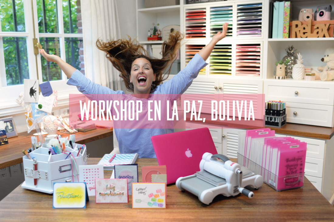 Workshops en La Paz, Bolivia!