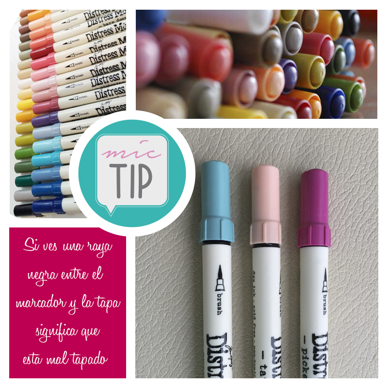 Mic Tip Distress Markers