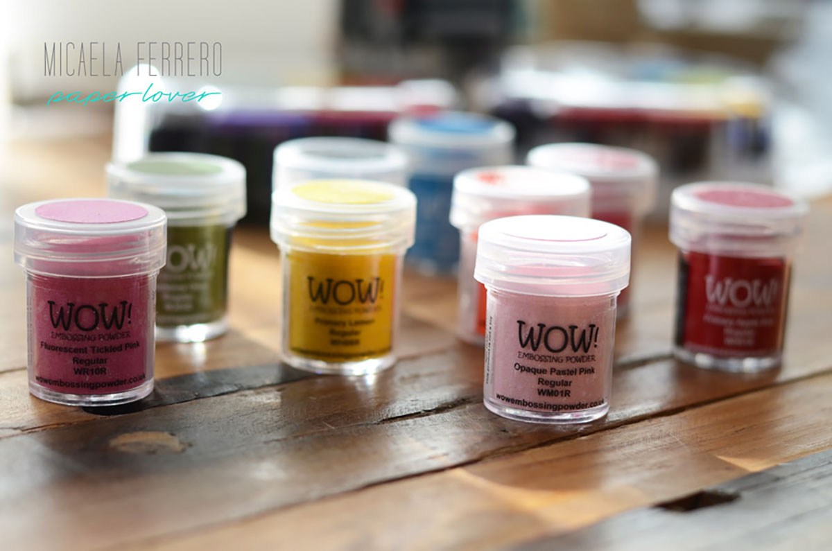 Craft Room Series: Episodio 1! ¿Cómo organizo los polvos para grabados o embossing powders?